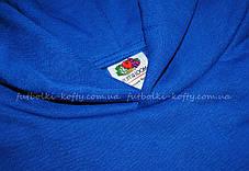 093b2c68 Детская премиум толстовка с капюшоном Ярко-синяя Fruit Of The Loom 62-037-