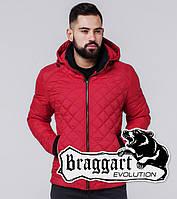 Braggart 1652 | Мужская ветровка красная