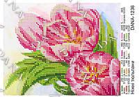 """Схемы для вышивки бисером А5 формата """"Нежные тюльпаны"""""""