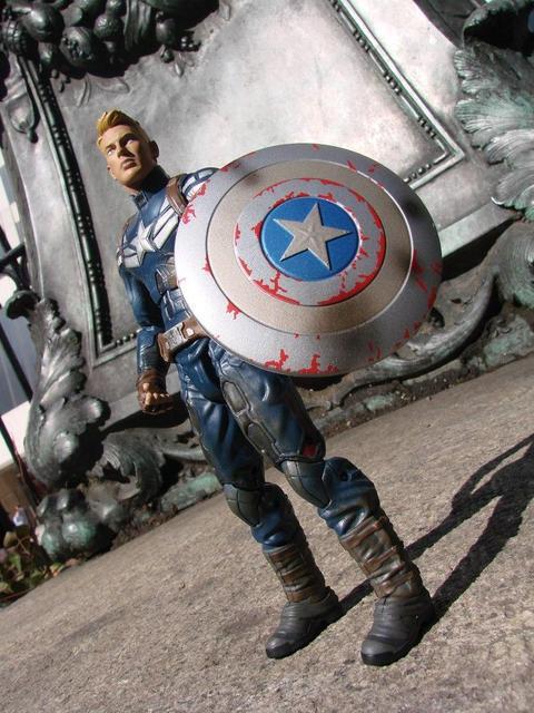 Фігурка Капітан Америка без маски