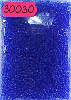 Бисер 10/0, цвет -  небесно-синий, №30030 (уп.50 грамм), фото 1