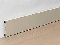 Металлический плинтус Profilpas Metal Line 89/4 анодированный алюминий, титан 10*40*2000 мм.