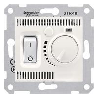 Термостат комнатный Слоновая кость Sedna Schneider, SDN6000123