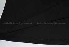 Мужская футболка плотная мягкая Чёрная Fruit of the loom 61-422-36 L, фото 3