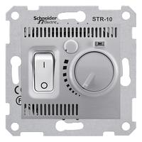 Термостат комнатный Алюминий Sedna Schneider, SDN6000160