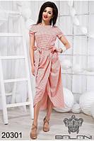 Платье женское с коротким рукавом (42-46), доставка по Украине