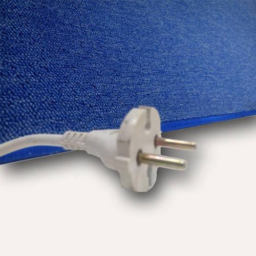 Коврики с подогревом UNI COLOR цвет Синий мощьность 110 Вт , 530*1030 (мм)