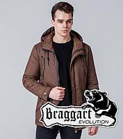 Braggart 1342 | Ветровка мужская коричневая