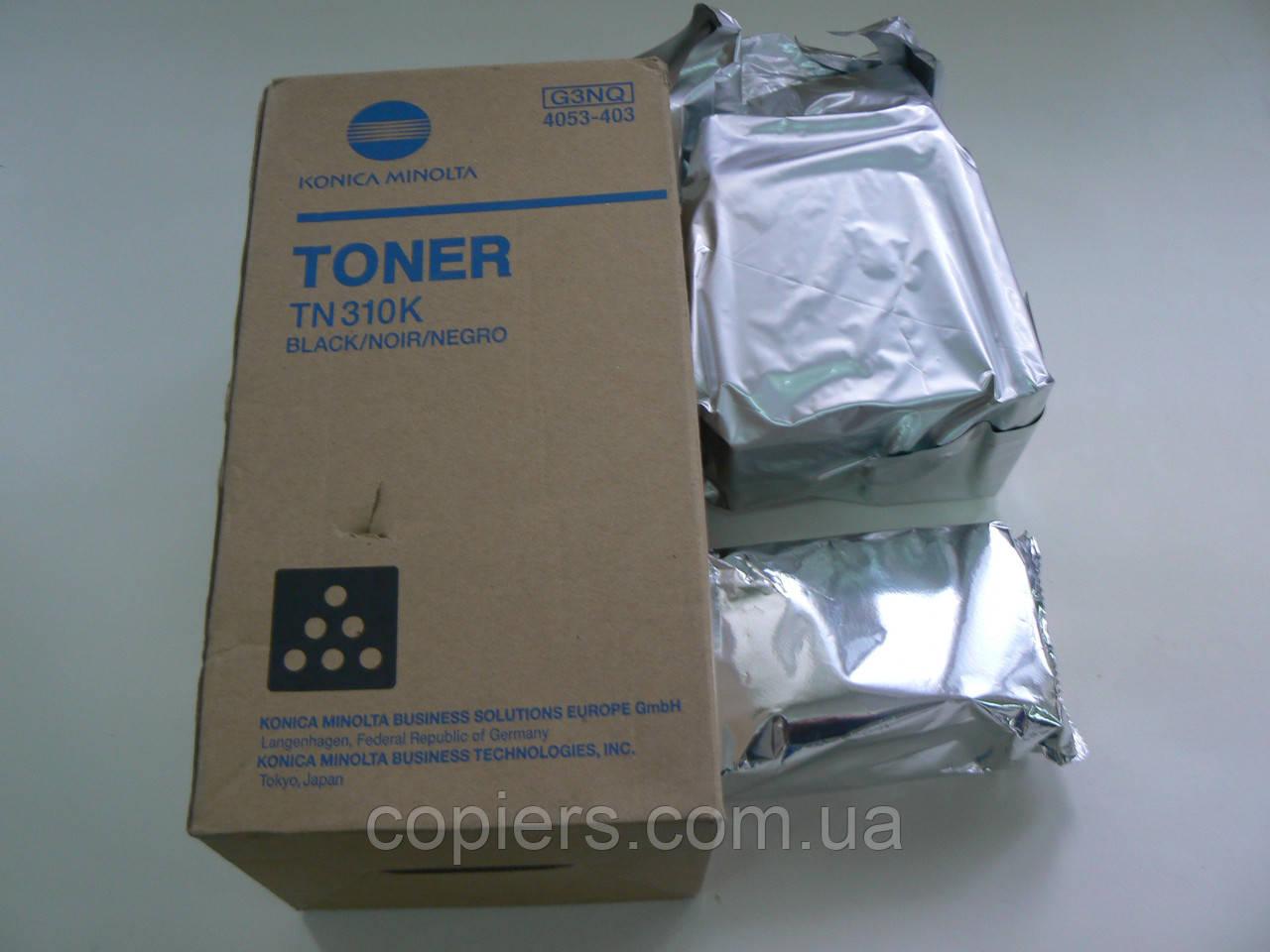 Тонер картридж TN310 К Konica Minolta bizhb C350/С351/С450 оригинал
