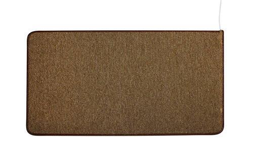 Коврики с подогревом UNI COLOR цвет Коричневый мощьность 154 Вт , 530*1430 (мм)