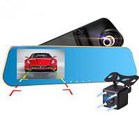 Дзеркало заднього виду з FullHD реєстратором + паркувальна камера