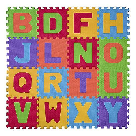 Мягкие пазлы BabyOno Буквы, 16 шт. (280)