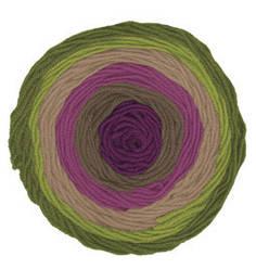 Турецкая пряжа Alize Superlana Maxi Long Batik для ручного вязания полушерсть №6778