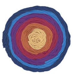 Турецкая пряжа Alize Superlana Maxi Long Batik для ручного вязания полушерсть №6774
