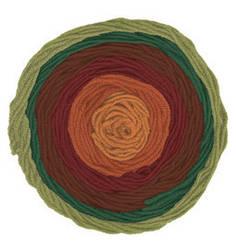Турецкая пряжа Alize Superlana Maxi Long Batik для ручного вязания полушерсть №6775