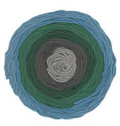 Турецкая пряжа Alize Superlana Maxi Long Batik для ручного вязания полушерсть №6777