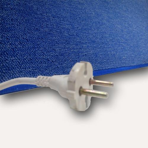 Коврики с подогревом UNI COLOR цвет Синий мощность 198 Вт , 530*1830 (мм)