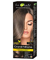 Крем-краска для волос био 100мл тон 5 La Fabelo Professional