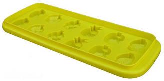 """Форма для льда """"Фрукты"""" мягкий пластик 24х10см, цвета в ассортименте"""