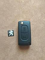 Peugeot ключ корпус заготовка ключа 2 кнопки лезвие VA2
