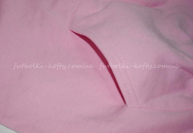 6de2c34e Светло-розовая детская премиум толстовка с капюшоном. Детская толстовка  Fruit of the loom ...
