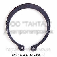 Кольцо стопорное наружное эксцентрическое от Ø4 до Ø400, ГОСТ 13942-86, DIN 471, фото 1