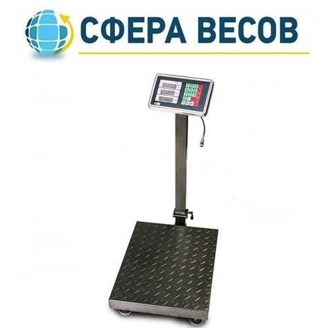 Весы товарные (торговые) ПРОК ВТ-300-С3 (300 кг, 450*600), фото 2