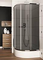 Душевая кабина Aquaform Afa 100-06319, 90x90x185 cм, без поддона, стекло графитовое, фото 1