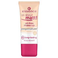 Essence тональный крем all about matt! oil-free make-up