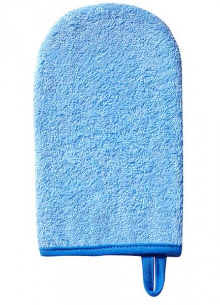 Рукавица для купания BabyOno Frotte, синий (167)
