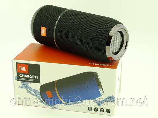 JBL Charge11 копія, колонка 5W з FM Bluetooth MP3, чорна, фото 2