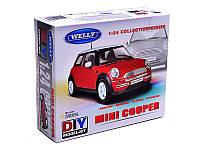 Сборная модель машина металлическая 1:24 Mini Cooper, 22075KB