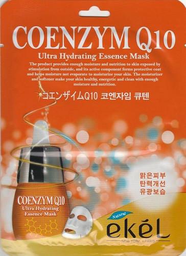 Корейская тканевая маска с коэнзимом Ekel Coenzym Q10 Ultra Hydrating Essence Mask