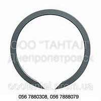 Кольцо пружинное упорное плоское концентрическое наружное от Ø8 до Ø200, ГОСТ 13940-86