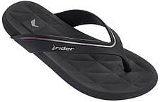 Оригинал Вьетнамки Женские 82205-23510 Rider Elite Black/Pink Черные