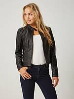 Косуха женская черная заменитель в размерах бренда Vero moda , фото 1