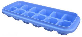 """Форма для льда """"Кубики"""" 24х10см, цвета в ассортименте"""