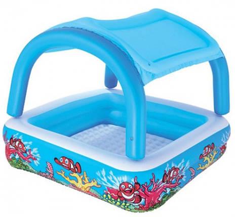 Детский надувной бассейн Bestway 52192 с крышей, фото 2