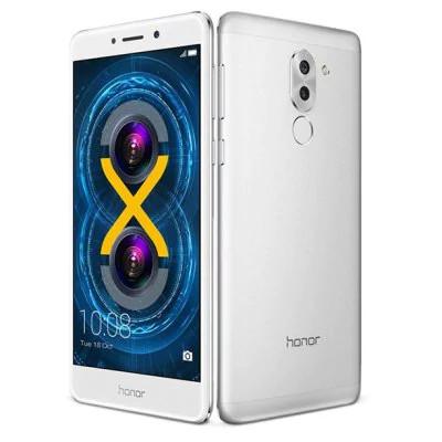 """Смартфон Huawei Honor 6X 3/32Gb Silver, 12+2/8Мп, 5.5"""" IPS, 2 sim, 4G, 3340мАh, HiSilicon Kirin 655, 8 ядер"""
