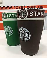 Керамическая термокружка с крышкой STARBUCKS CUP.