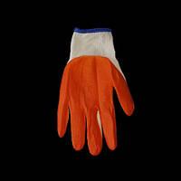 Перчатки хозяйственные п/э теплые с флисом покрытые латексом