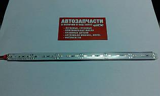 Діодна смуга 25 см з провідом 12V червона