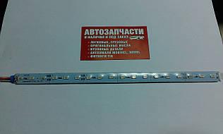 Діодна смуга 25 см з провідом 12V синя