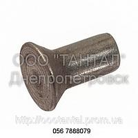 Заклепка стальная с потайной головкой от Ø1,4 до Ø36, ГОСТ 10300-80, DIN 302, DIN 661, ISO 1051