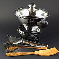 Садж для шашлыка Ветка (черный) М