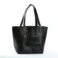 Кожаная сумка модель 3 кайман