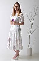 Белое кружевное платье Dior
