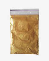 Пигмент перламутр золото червонное 50 г (10-60 мкм)