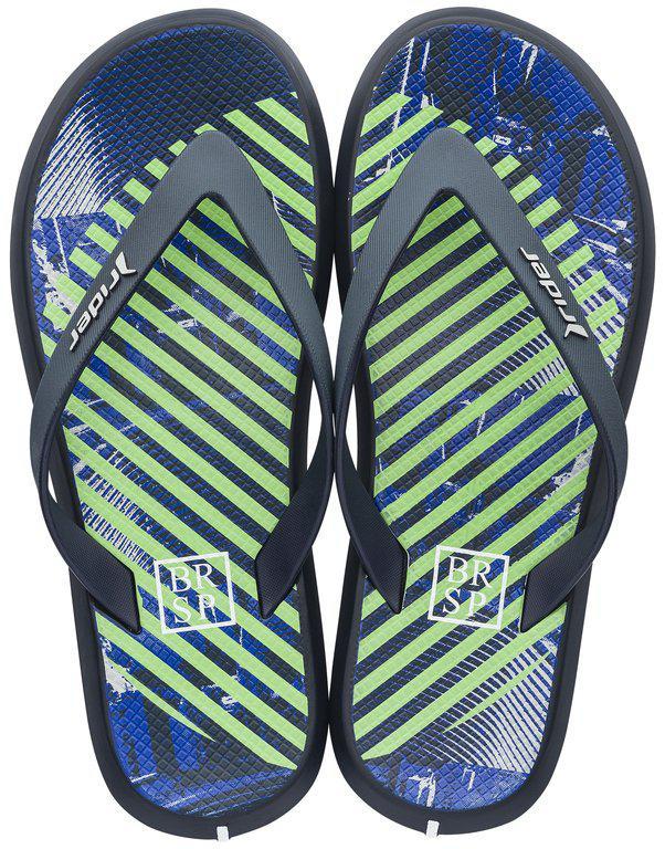 Оригинал Вьетнамки Мужские 82364-24231 Rider R1 Energy Plus Blue/Green/White