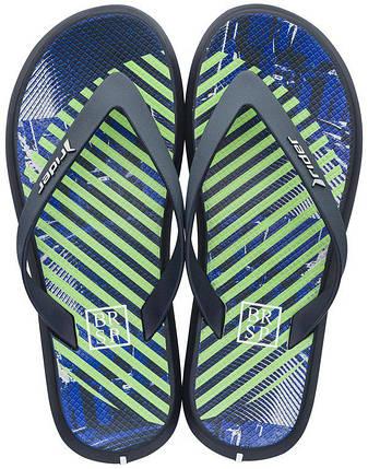 Оригинал Вьетнамки Мужские 82364-24231 Rider R1 Energy Plus Blue/Green/White, фото 2